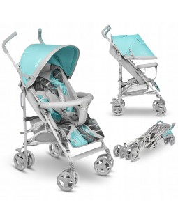 Прогулянкова коляска-тростина Lionelo Elia Tropical Turquoise  5902581658869