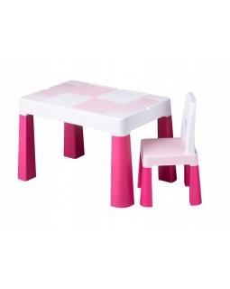 Комплект Tega Multifun столик і один стільчик Pink MF-001-123 1+1 5902963015884