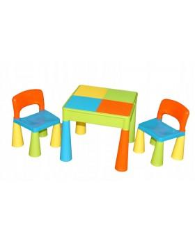 Комплект Tega Mamut столик і два стільчика