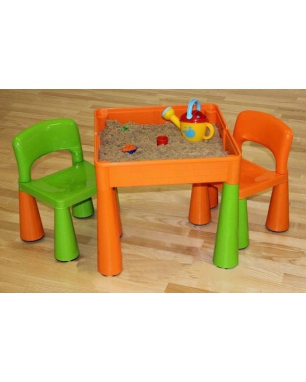 Комплект Tega Mamut столик і два стільчика MT-001 MULTICOLOR 5902963070685