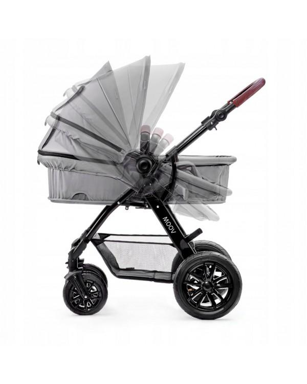 Універсальна коляска 3 в 1 Kinderkraft Moov Gray KKWMOOVGRY00NC 5902533906949