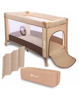 Ліжечко-манеж Lionelo Adriaa Plus Beige Stripes LO.AD01 5903771700191
