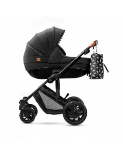Універсальна коляска 2 в 1 Kinderkraft Prime Black + Mommybag KKWPRIMBKMB200 5902533912933