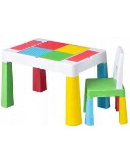 Комплект Tega Multifun столик і один стільчик Multicolor MF-001-134 1+1 5902963015891