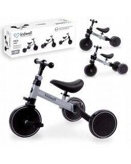 Триколісний велосипед 3 в 1 Kidwell Pico Gray ROTRPIC01A2 5901130084180