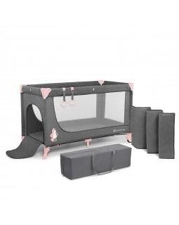 Ліжко-манеж Kinderkraft Joy Pink KKLJOYPNK00000 5902533911257
