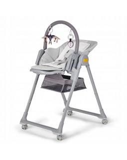 Стільчик для годування Kinderkraft Lastree Grey KHLAST00GRY0000 5902533917174