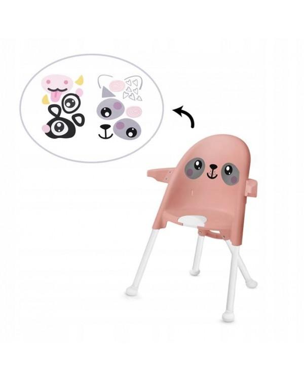 Стільчик для годування 2 в 1 Kinderkraft Pini Pink KKKPINIPNK0000 5902533911431