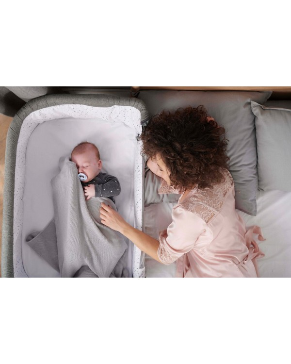 Доставне ліжко-люлька Kinderkraft Neste Air Grey KKLNEAIRGRY000 5902533915484