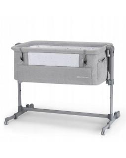 Доставне ліжко-люлька Kinderkraft Neste Up Light Grey Melange KKLNESTGRY000N 5902533915279