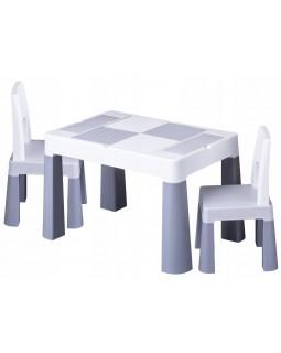 Комплект Tega Multifun столик і два стільчика Grey MF-002-106 1+2