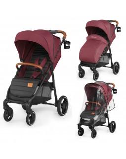Прогулянкова коляска Kinderkraft Grande LX Burgundy KKWGRANBRG00LX 5902533914319