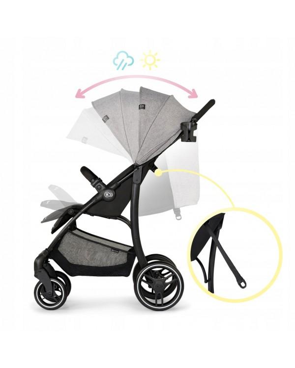 Прогулянкова коляска Kinderkraft Trig Grey KKWTRIGGRY0000 5902533915552