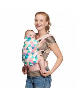 Рюкзак-переноска Kinderkraft Nino Pink KKNNINOPINK000 5902533909209