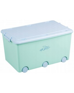 Ящик для іграшок Tega Rabbits Light Green KR-010-105 5902963008312