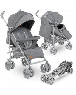 Прогулянкова коляска-тростина Lionelo Irma Grey  5902581655684
