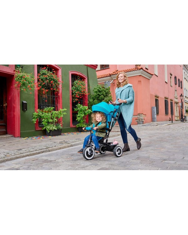 Триколісний велосипед Kinderkraft Aston Pink KKRASTOPNK0000 5902533910571