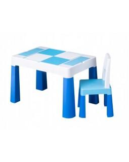 Комплект Tega Multifun столик і один стільчик Blue MF-001-120 1+1 5902963015860
