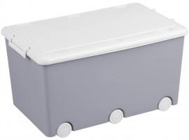 Ящик для іграшок Tega Сова Grey