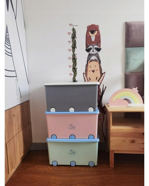 Ящик для іграшок Tega Сова Grey SO-008-106 5902963000699