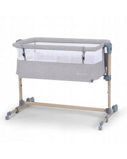 Доставне ліжко-люлька Kinderkraft Neste Air Grey Wood KKLNEAIRGRY00W 5902533915477