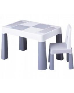 Комплект Tega Multifun столик і один стільчик Grey MF-001-106 1+1 5902963015877