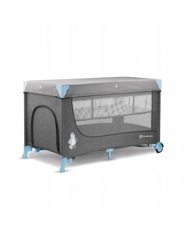 Ліжко-манеж з пеленатором Kinderkraft Joy Blue KKLJOYBLU000AC 5902533911288