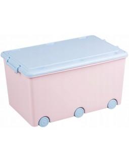 Ящик для іграшок Tega Rabbits Light Pink KR-010-104 5902963008305