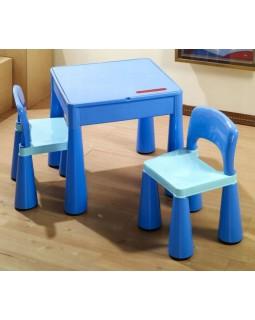 Комплект Tega Mamut столик і два стільчика MT-001 BLUE 5902963070692