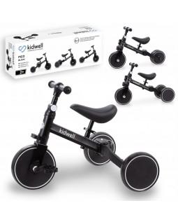 Триколісний велосипед 3 в 1 Kidwell Pico Black ROTRPIC01A3 5901130084197
