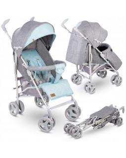 Прогулянкова коляска-тростина Lionelo Irma Mint  5902581655691