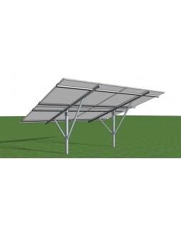 Комплект кріплень для монтажу сонячних батарей на ґрунт 10 кВт