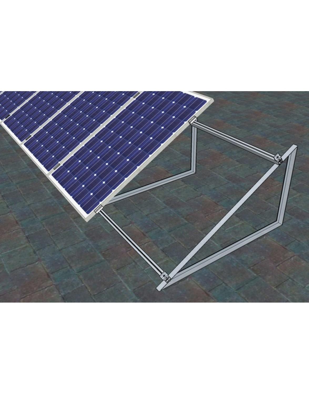 Комплект кріплень для монтажу 40 шт. сонячних батарей на плоский дах