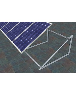 Комплект кріплень для монтажу 12 шт. сонячних батарей на плоский дах