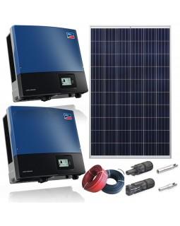 Мережева сонячна електростанція 30 кВт для дому