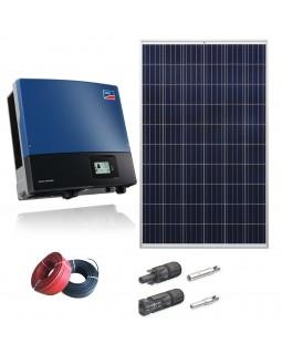 Мережева сонячна електростанція 15 кВт для дому