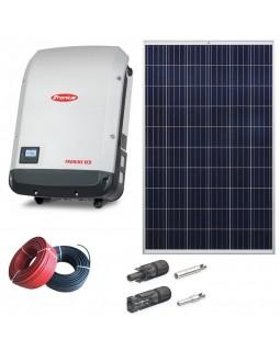 Мережева сонячна електростанція 27 кВт для дому
