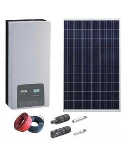 Комплект сонячних батарей 10 кВт на дах з металочерепиці