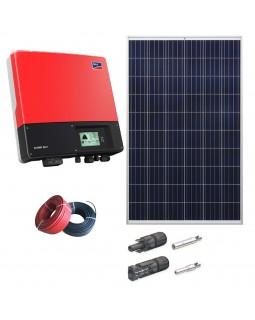 Мережева сонячна електростанція 3 кВт для дому