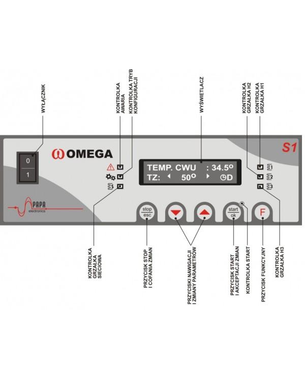Контролер нагрівача для підігріву води Omega S1