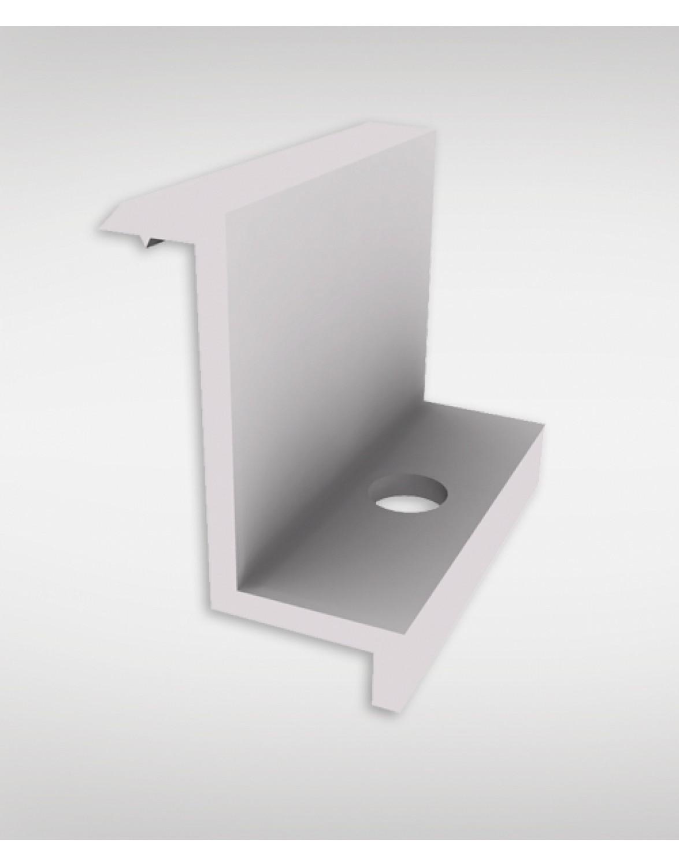 Зажим кінцевий срібний 40 мм
