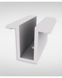 Зажим серединний срібний 25 мм