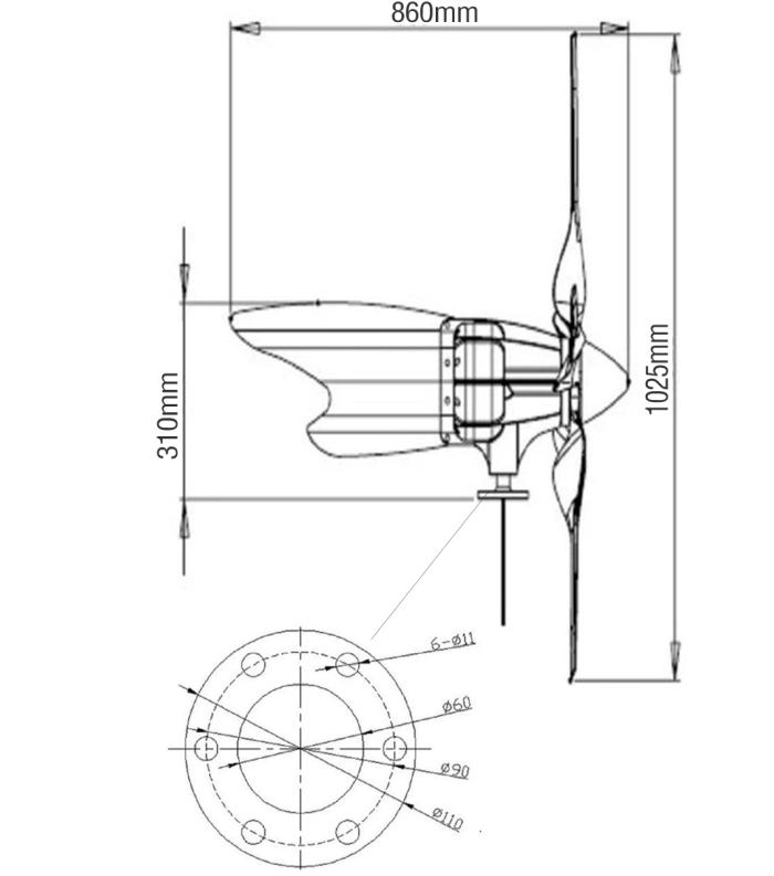 Wind turbine c300